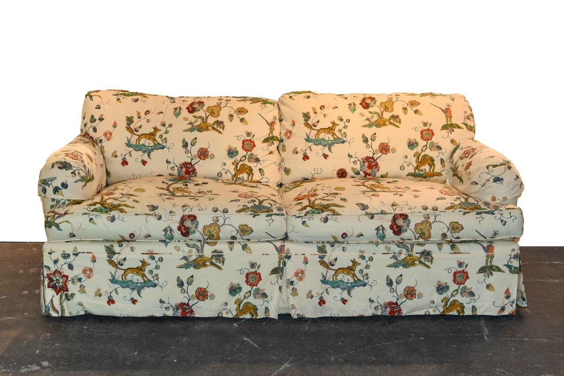 DOWN FILLED UPHOLSTERED SOFA