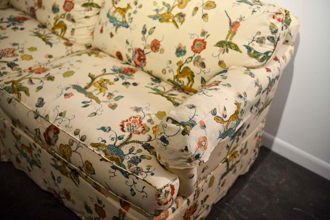 DOWN FILLED UPHOLSTERED SOFA - 4