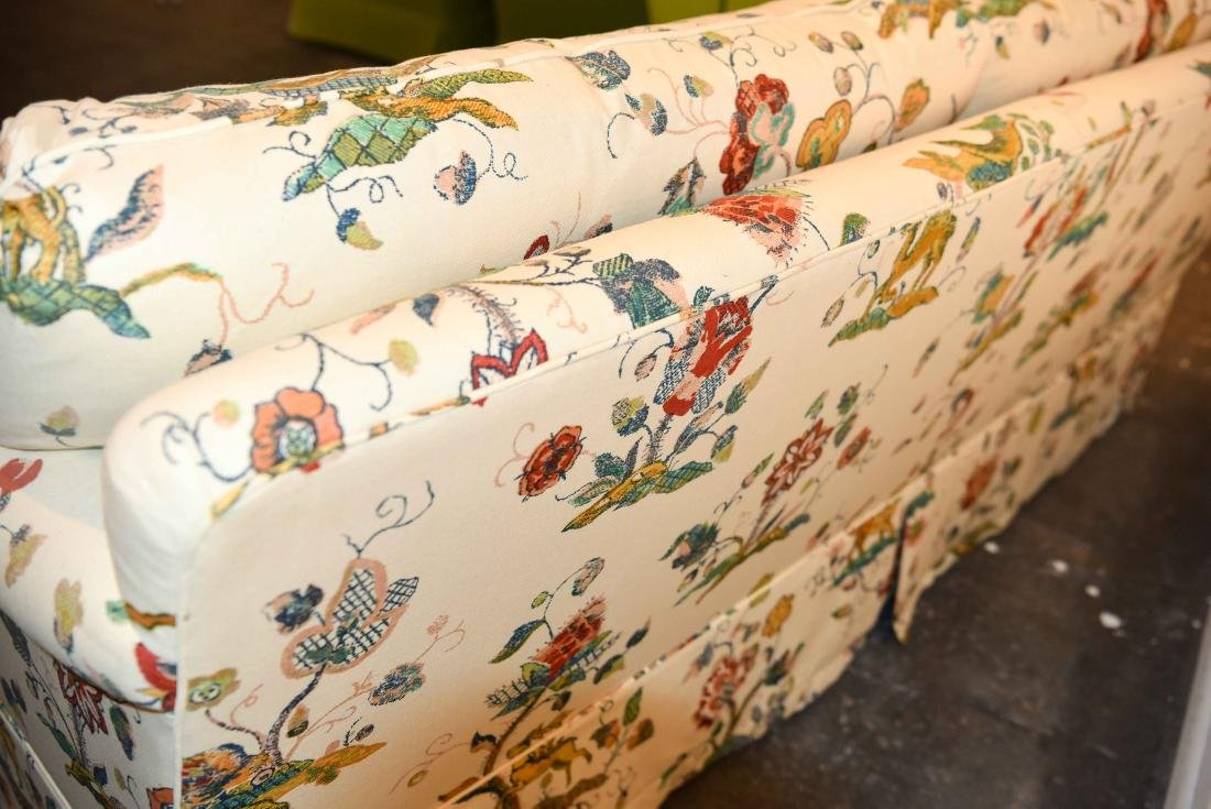 DOWN FILLED UPHOLSTERED SOFA - 9