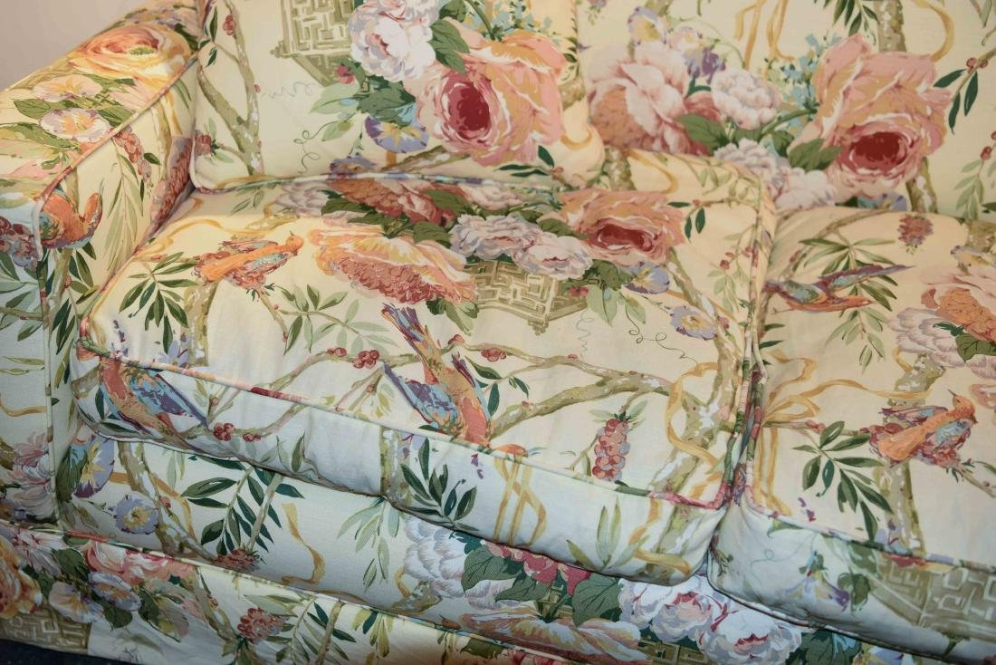 CHINTZ DOWN FILLED UPHOLSTERED SOFA - 2
