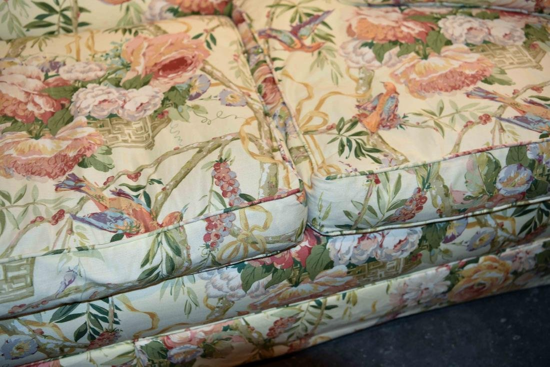 CHINTZ DOWN FILLED UPHOLSTERED SOFA - 3
