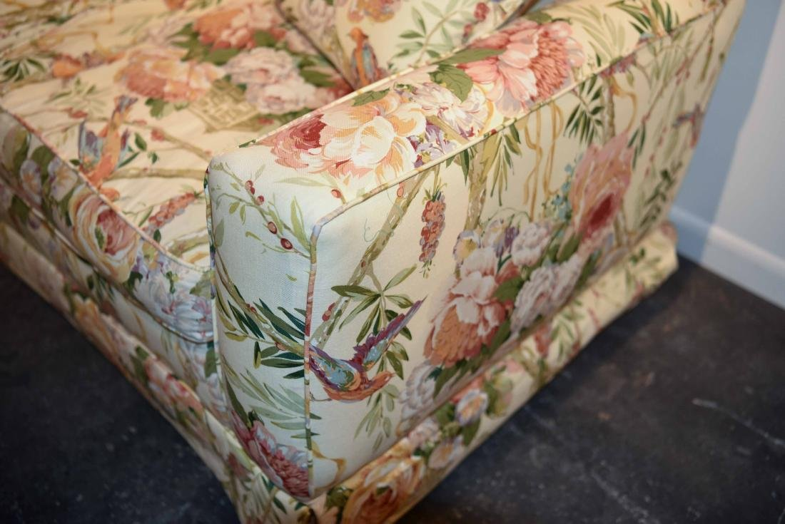 CHINTZ DOWN FILLED UPHOLSTERED SOFA - 4