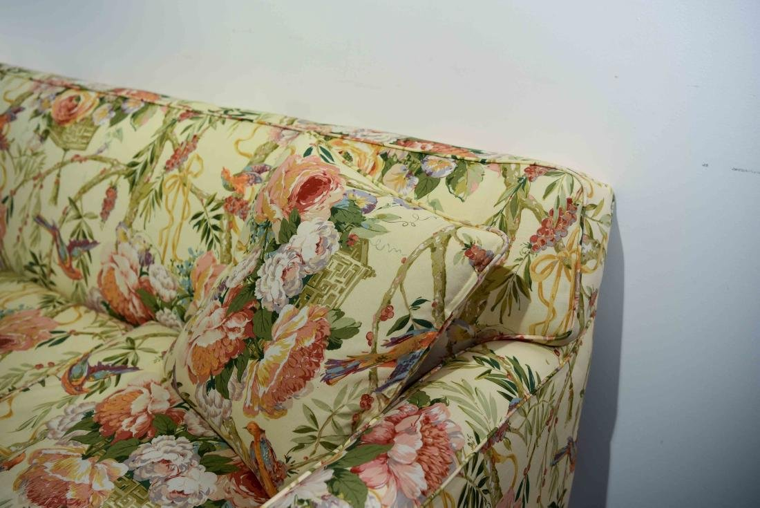 CHINTZ DOWN FILLED UPHOLSTERED SOFA - 5