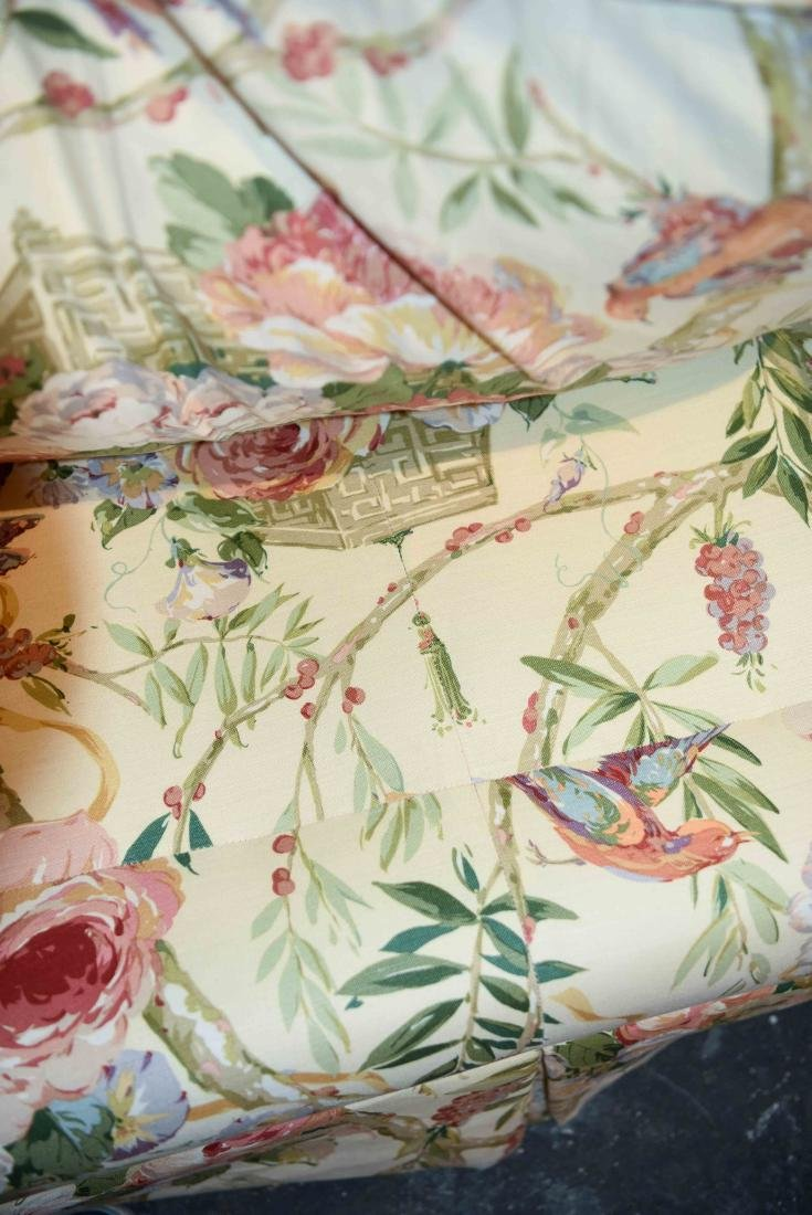 CHINTZ DOWN FILLED UPHOLSTERED SOFA - 6