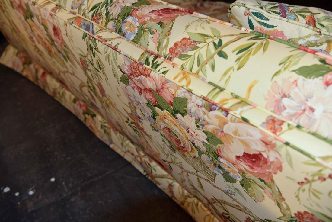 CHINTZ DOWN FILLED UPHOLSTERED SOFA - 7