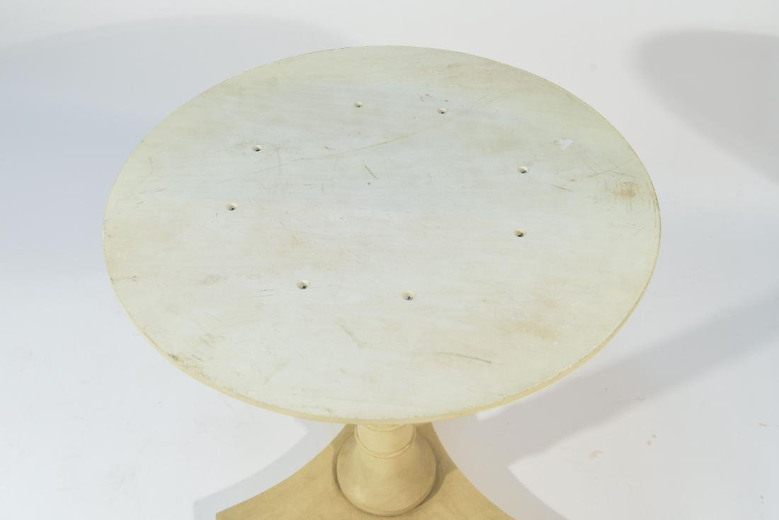 PIETRA DURA MARBLE TOP TABLE - 10