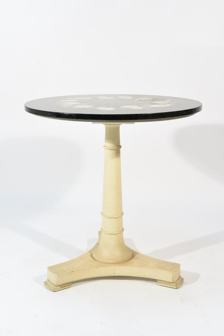 PIETRA DURA MARBLE TOP TABLE