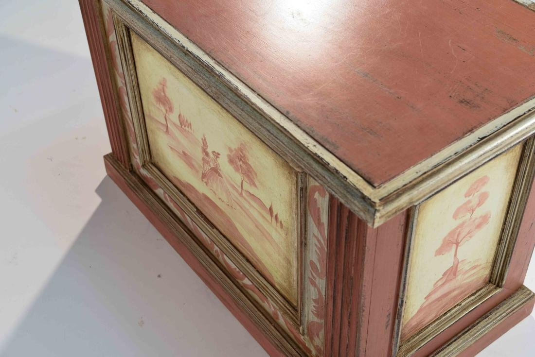 HAND PAINTED TRUNK MADE IN ITALY - 10