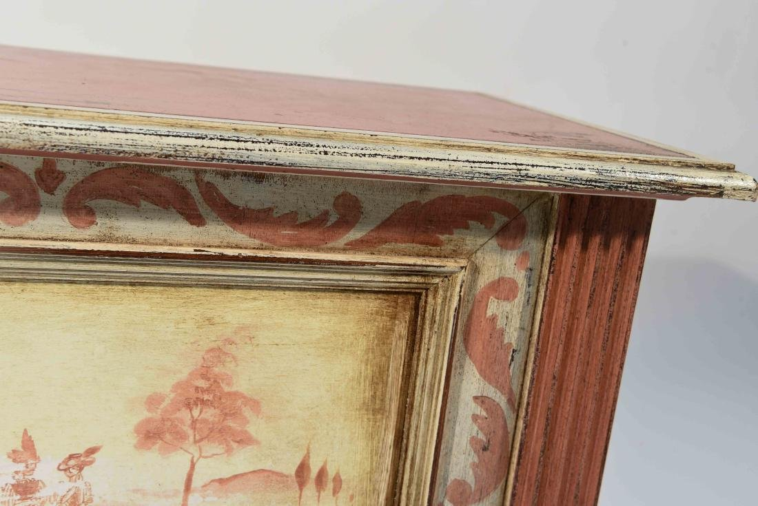 HAND PAINTED TRUNK MADE IN ITALY - 5