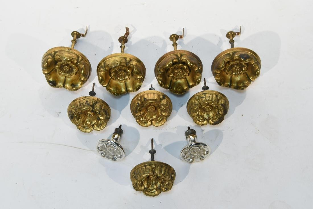 GROUPING OF CURTAIN TIE BACKS - 6