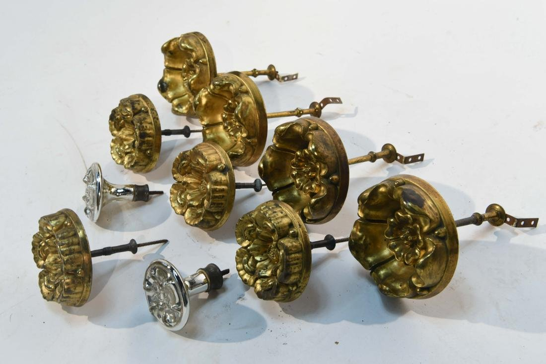 GROUPING OF CURTAIN TIE BACKS - 7