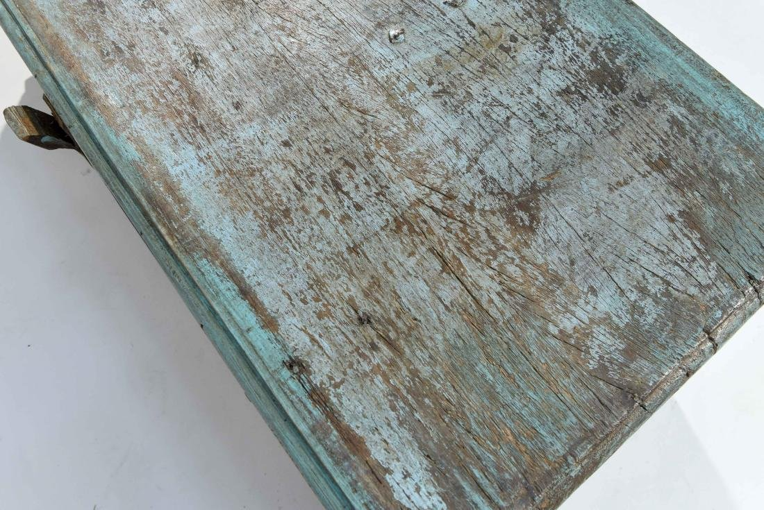 ANTIQUE PAINTED DISTRESSED CHEST - 10