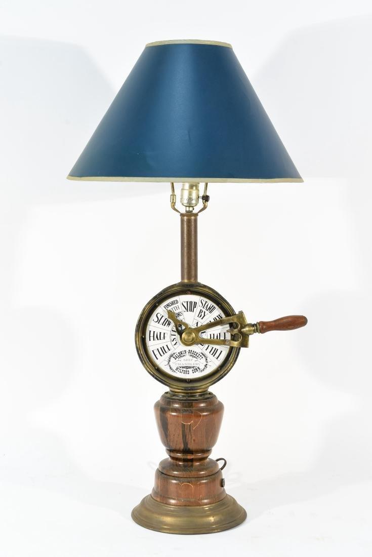SHIP'S THROTTLE LAMP
