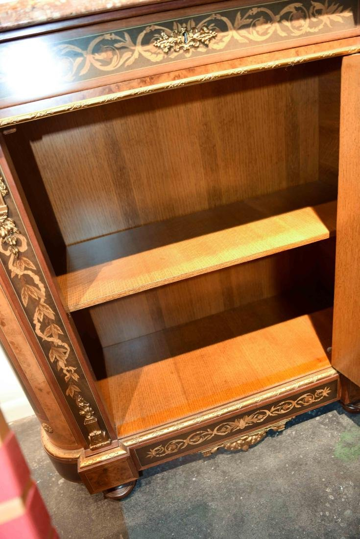 VICTORIAN MARBLE TOP CABINET - 10
