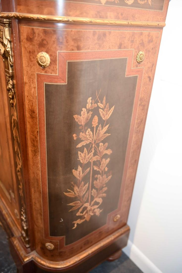 VICTORIAN MARBLE TOP CABINET - 6