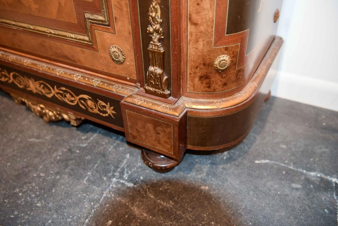 VICTORIAN MARBLE TOP CABINET - 7