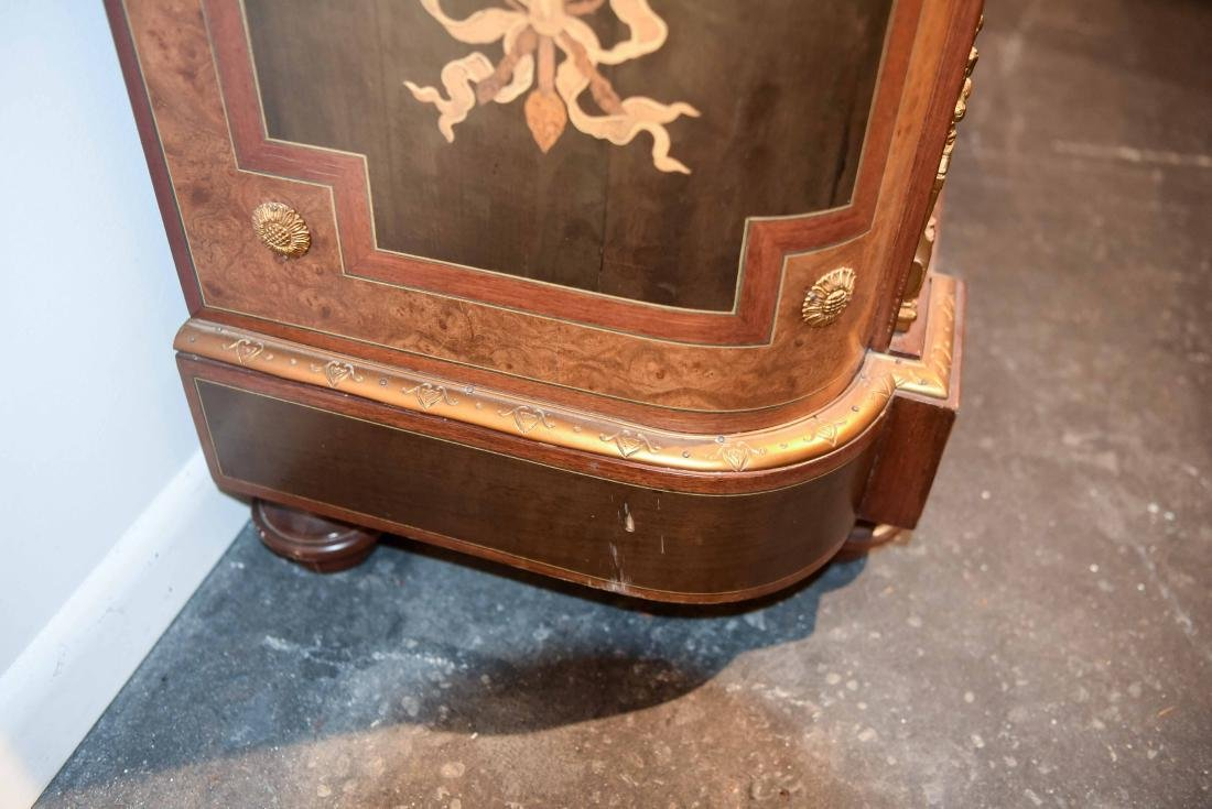 VICTORIAN MARBLE TOP CABINET - 8