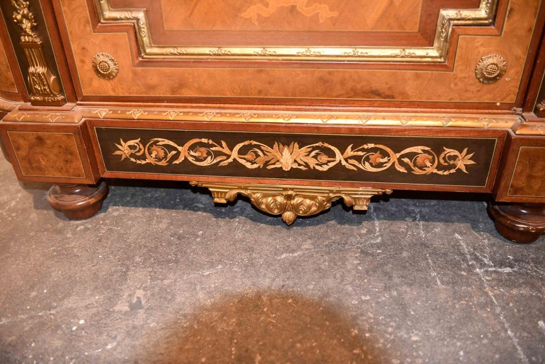 VICTORIAN MARBLE TOP CABINET - 9