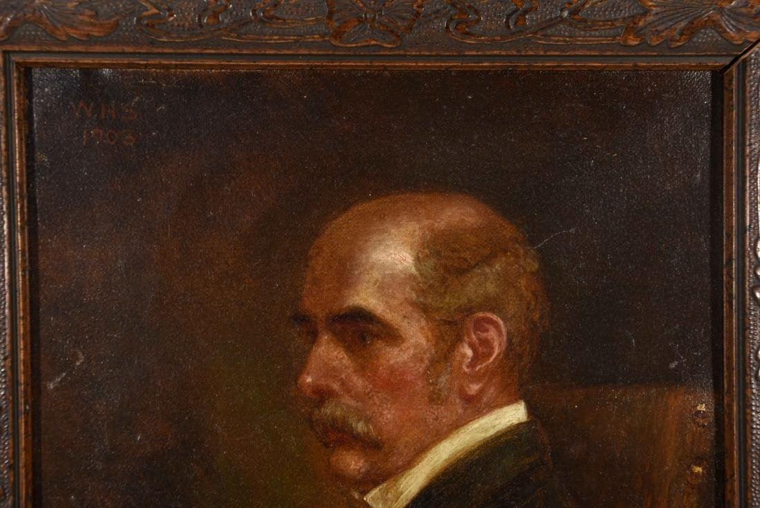 SELF PORTRAIT W. H. SULLIVAN 1903 - 2