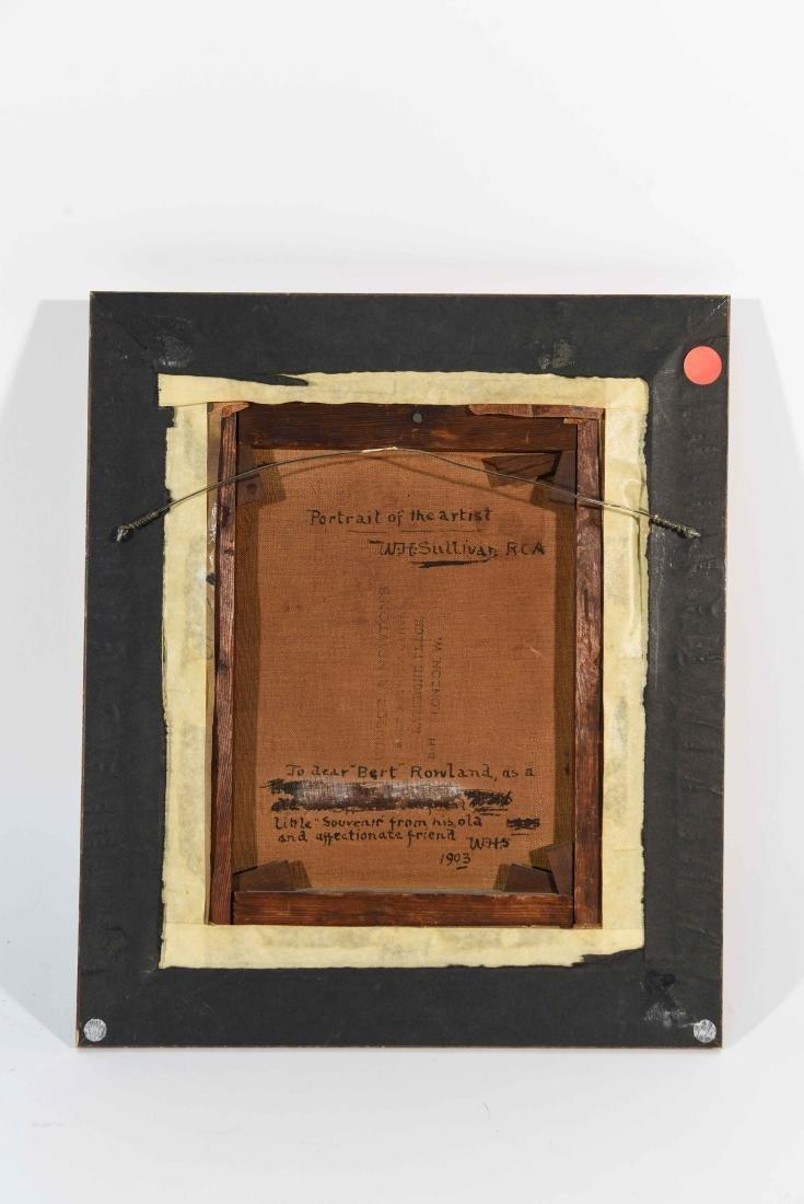 SELF PORTRAIT W. H. SULLIVAN 1903 - 7