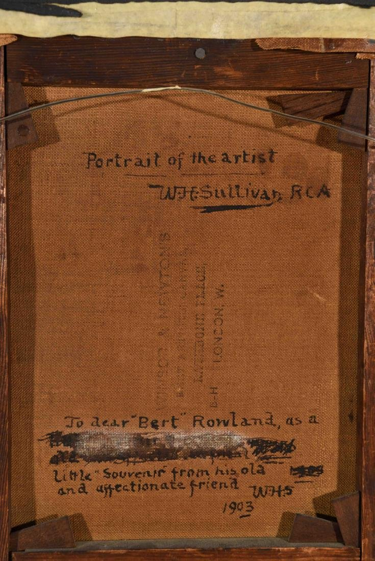 SELF PORTRAIT W. H. SULLIVAN 1903 - 8