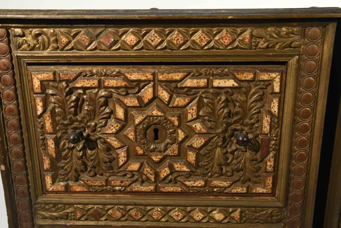 PAIR OF 17/18TH C. SPANISH COLONIAL STYLE CABINETS - 2