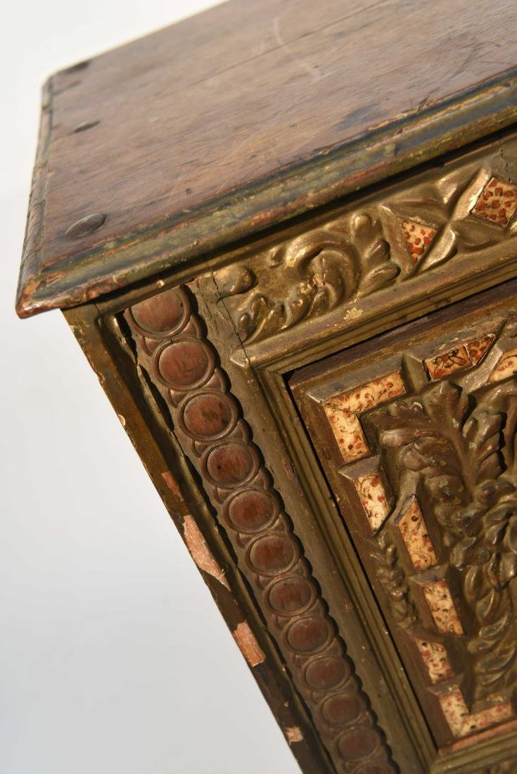 PAIR OF 17/18TH C. SPANISH COLONIAL STYLE CABINETS - 4