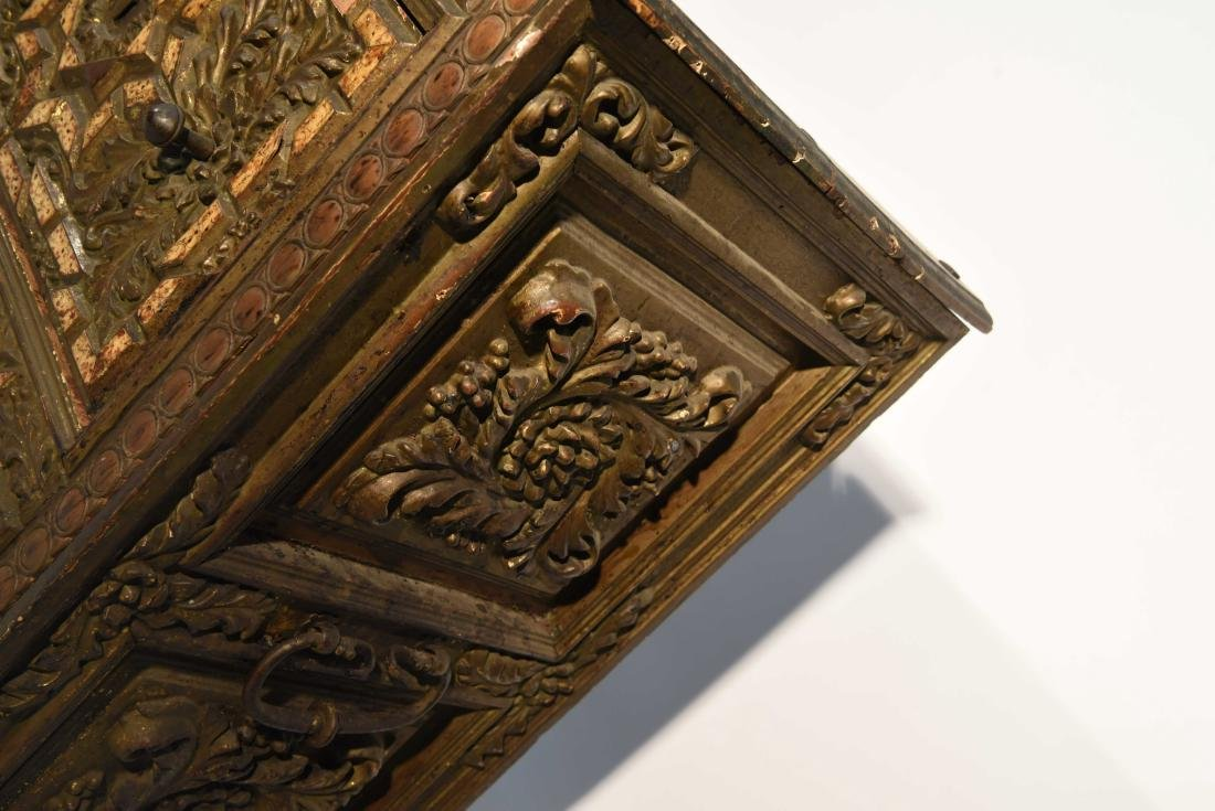 PAIR OF 17/18TH C. SPANISH COLONIAL STYLE CABINETS - 7