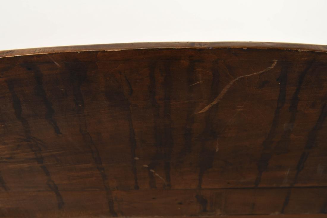 CARVED WOOD ART NOUVEAU COAT RACK - 9