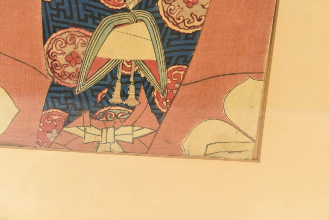 (2) JAPANESE WOODBLOCK PRINTS - 9