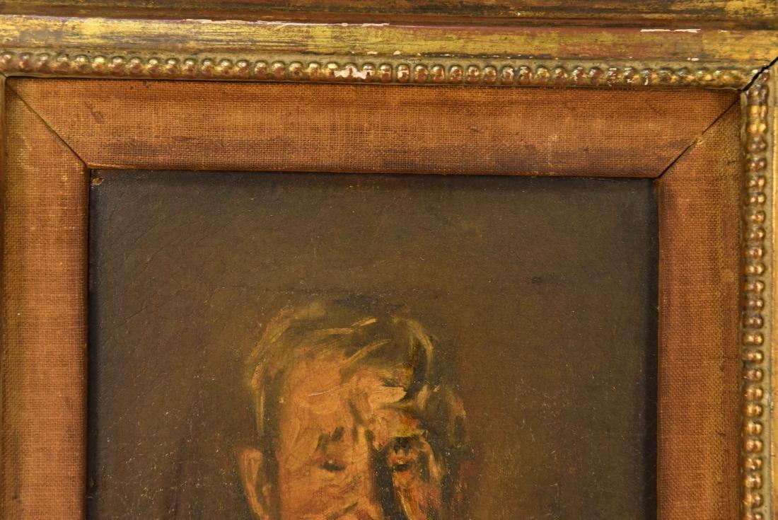 HENRY MAJOR (1888-1948) O/C PORTRAIT OF MAN - 4