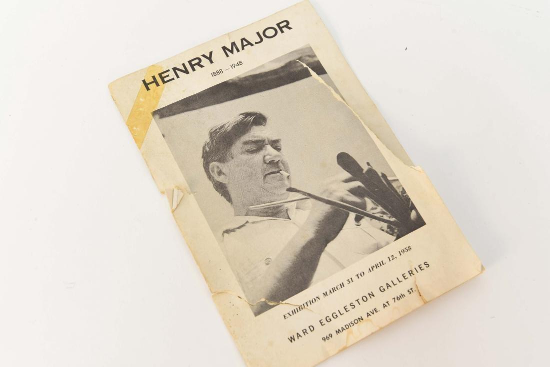 HENRY MAJOR (1888-1948) O/C PORTRAIT OF MAN - 5
