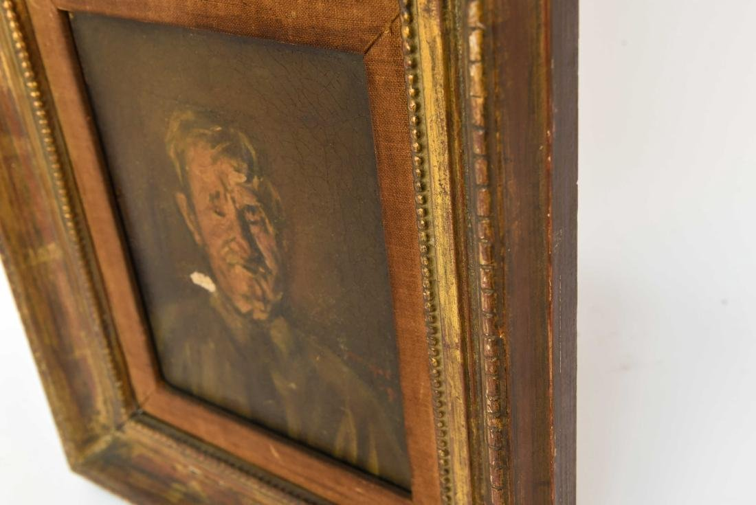 HENRY MAJOR (1888-1948) O/C PORTRAIT OF MAN - 6