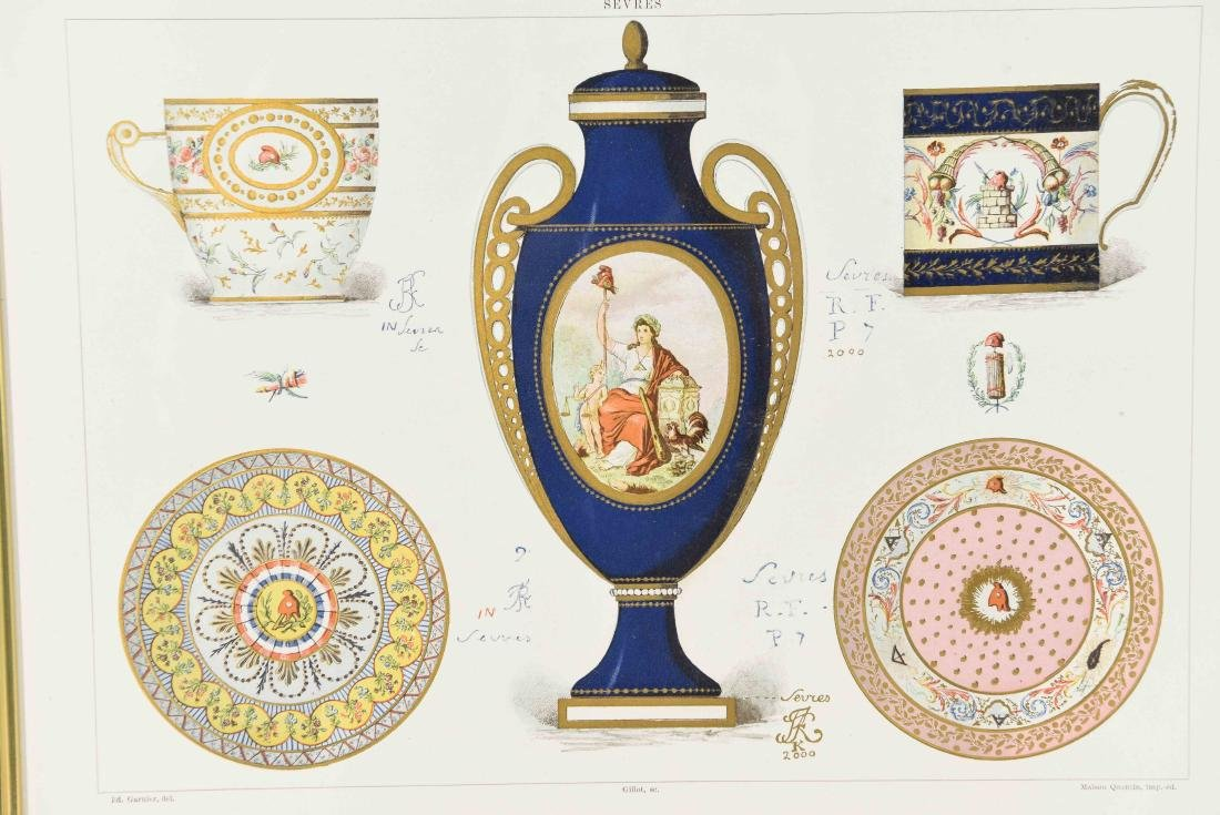 PRINT OF SÈVRES PORCELAIN - 2