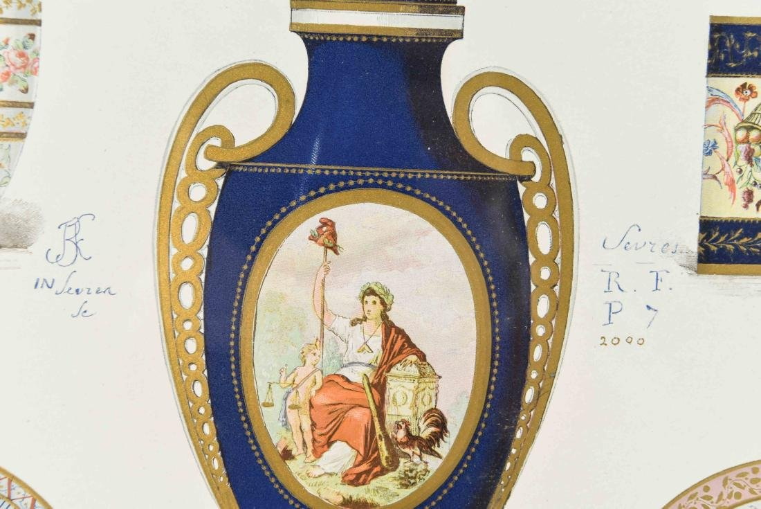 PRINT OF SÈVRES PORCELAIN - 5