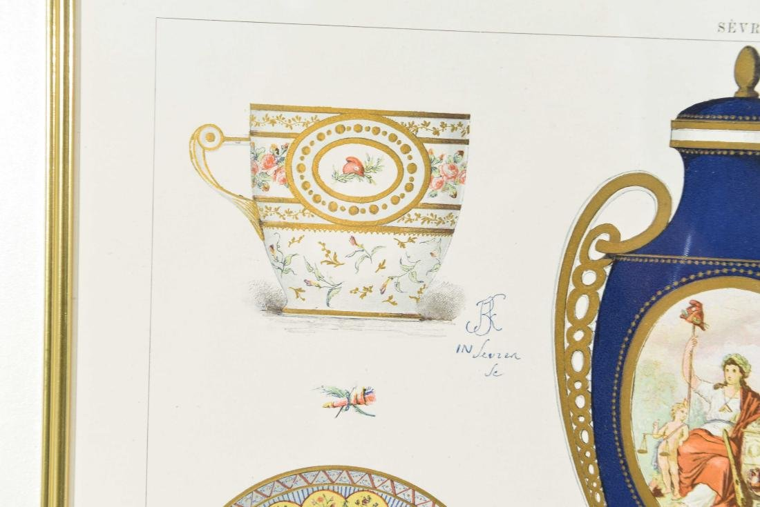 PRINT OF SÈVRES PORCELAIN - 8