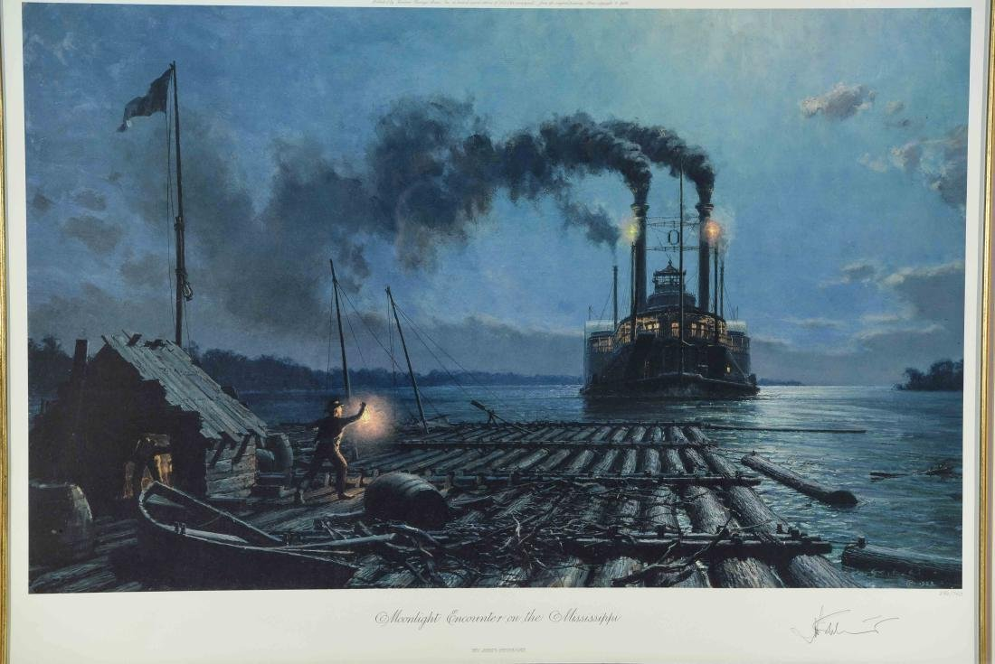 JOHN STOBART SEASCAPE PRINT, SIGNED AND NUMBERED - 2