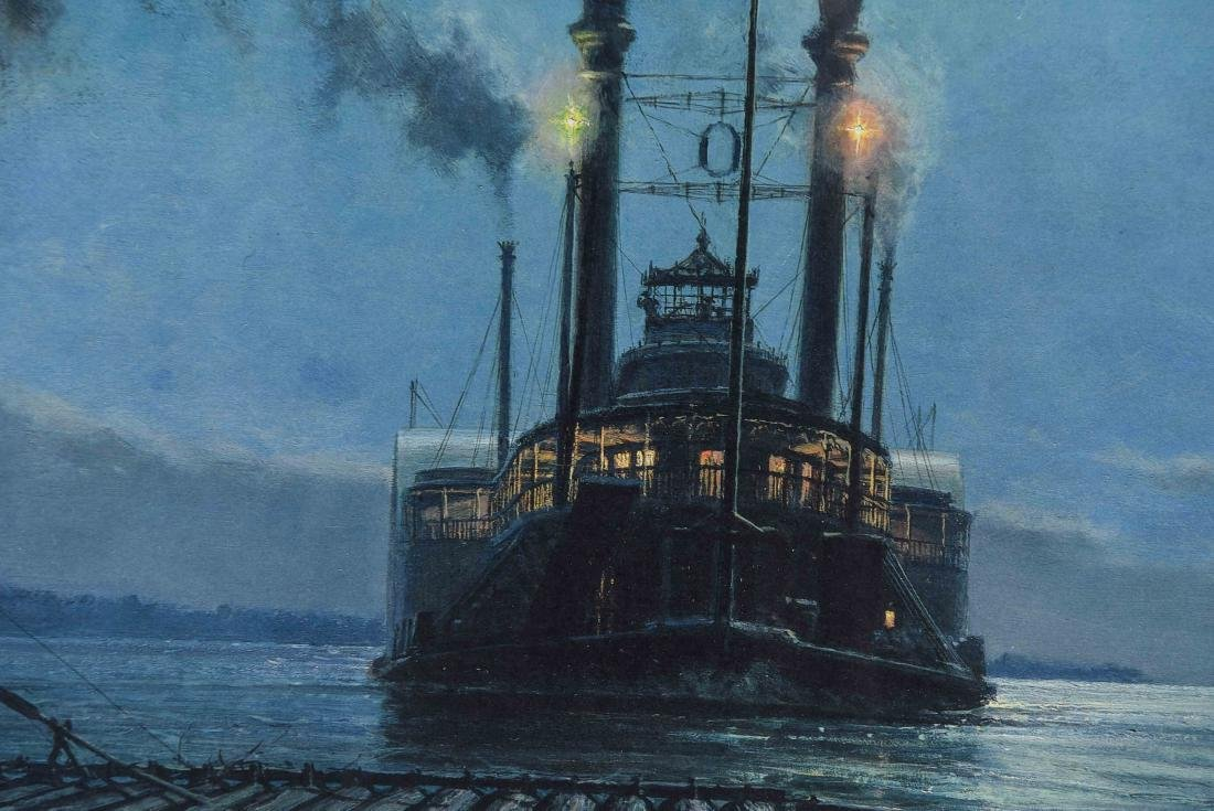 JOHN STOBART SEASCAPE PRINT, SIGNED AND NUMBERED - 4
