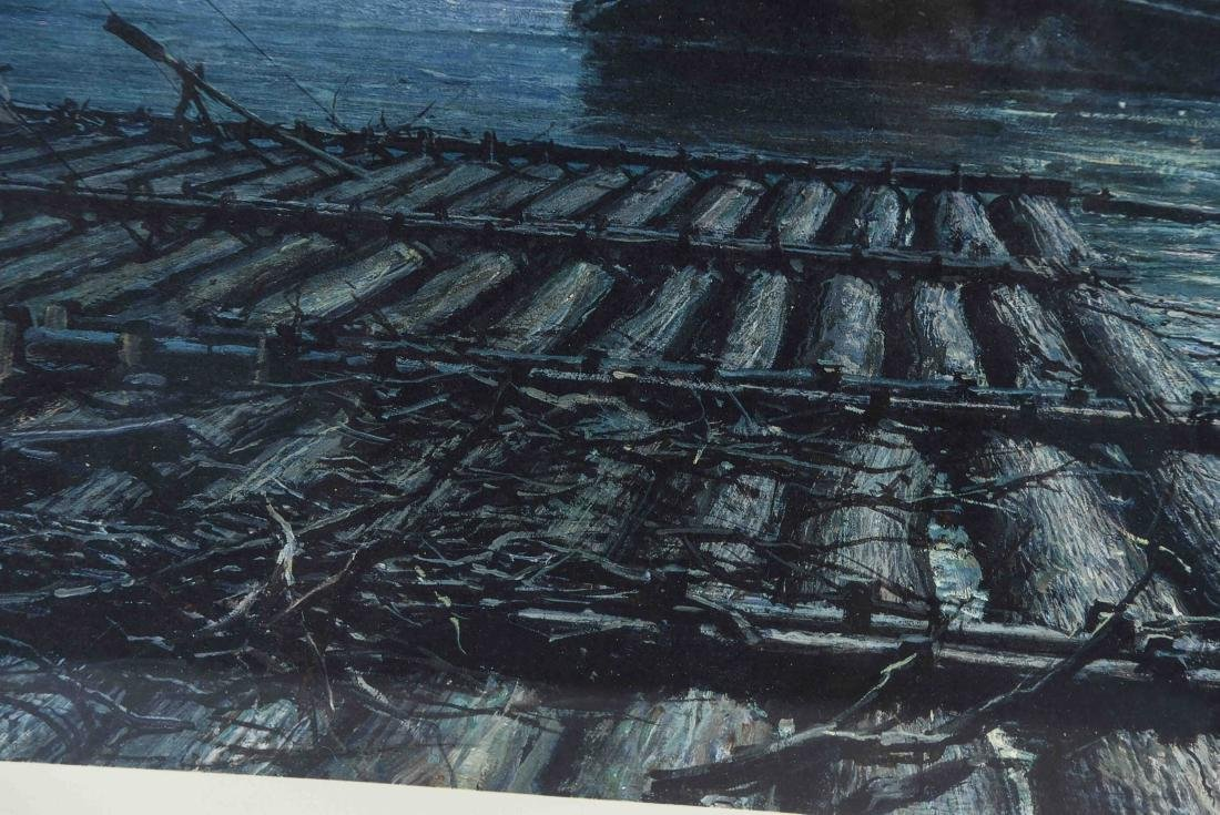 JOHN STOBART SEASCAPE PRINT, SIGNED AND NUMBERED - 5