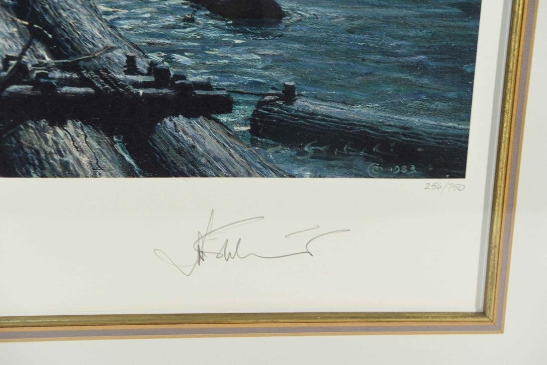 JOHN STOBART SEASCAPE PRINT, SIGNED AND NUMBERED - 7