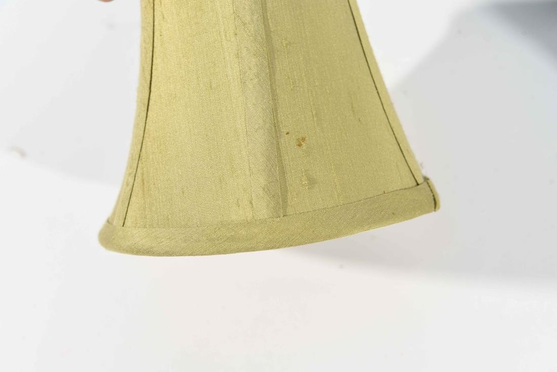 PAIR CANDLESTICK LAMPS - 10