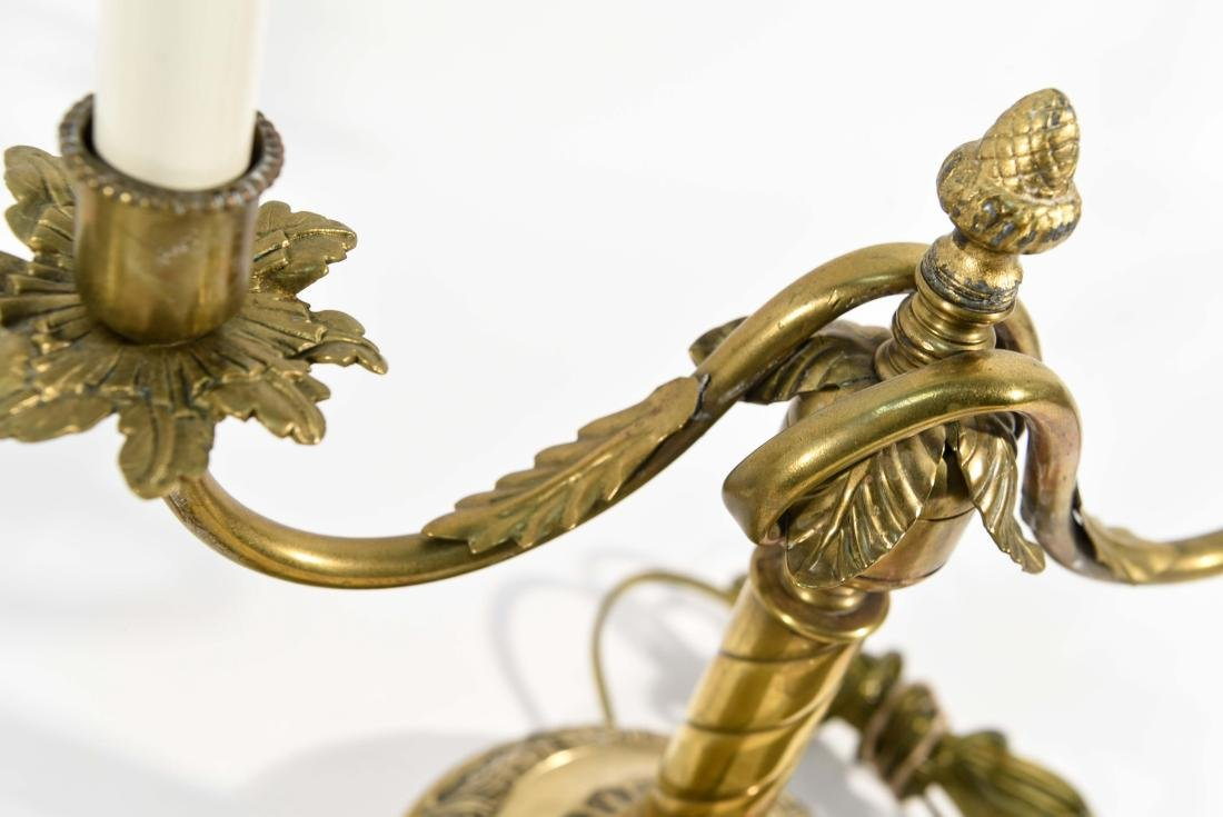 PAIR CANDLESTICK LAMPS - 5