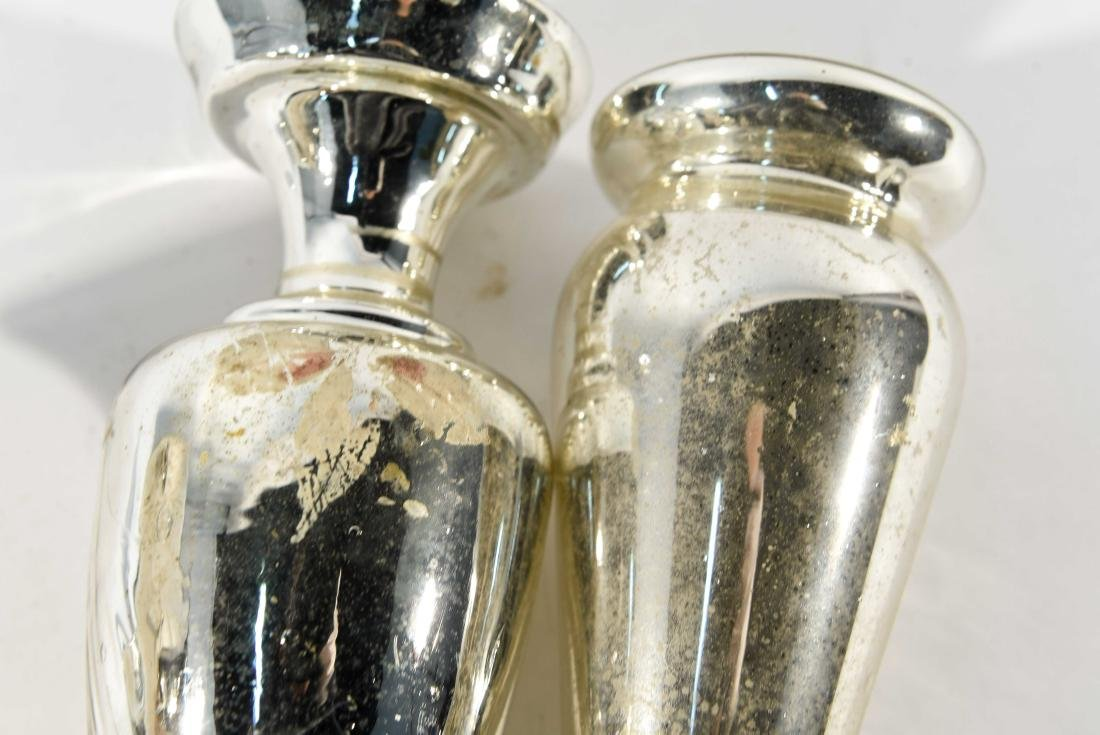 GROUPING OF MERCURY GLASS - 10