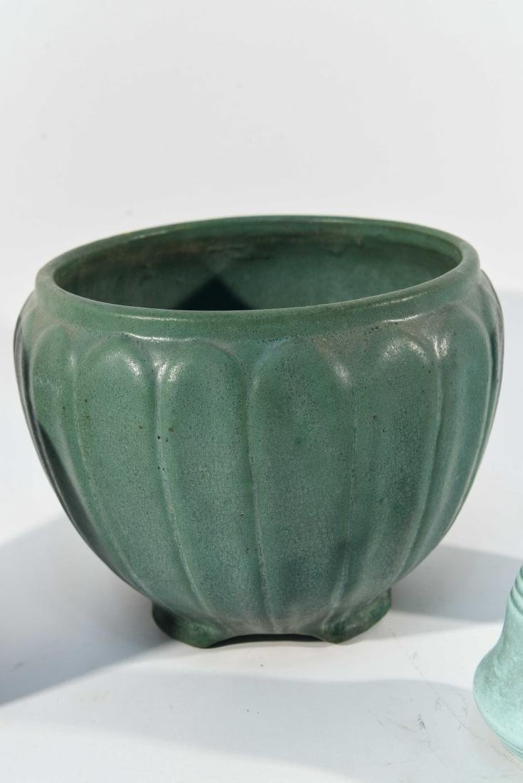 GROUPING OF ART POTTERY - 3