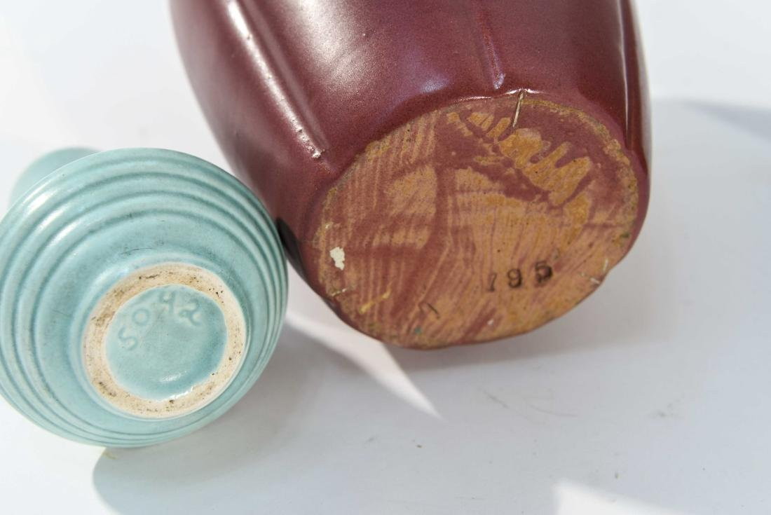 GROUPING OF ART POTTERY - 7