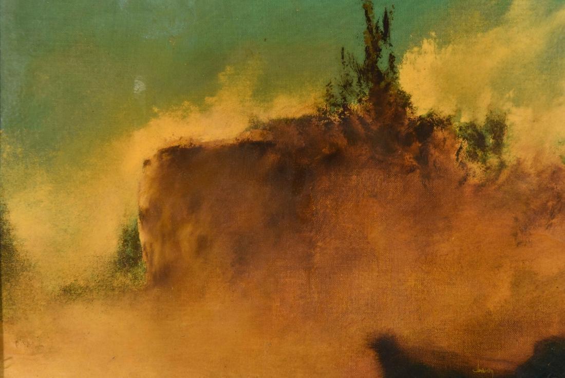 """EAST CAMINO CIELO"" SANTA BARBARA 1973 - 2"