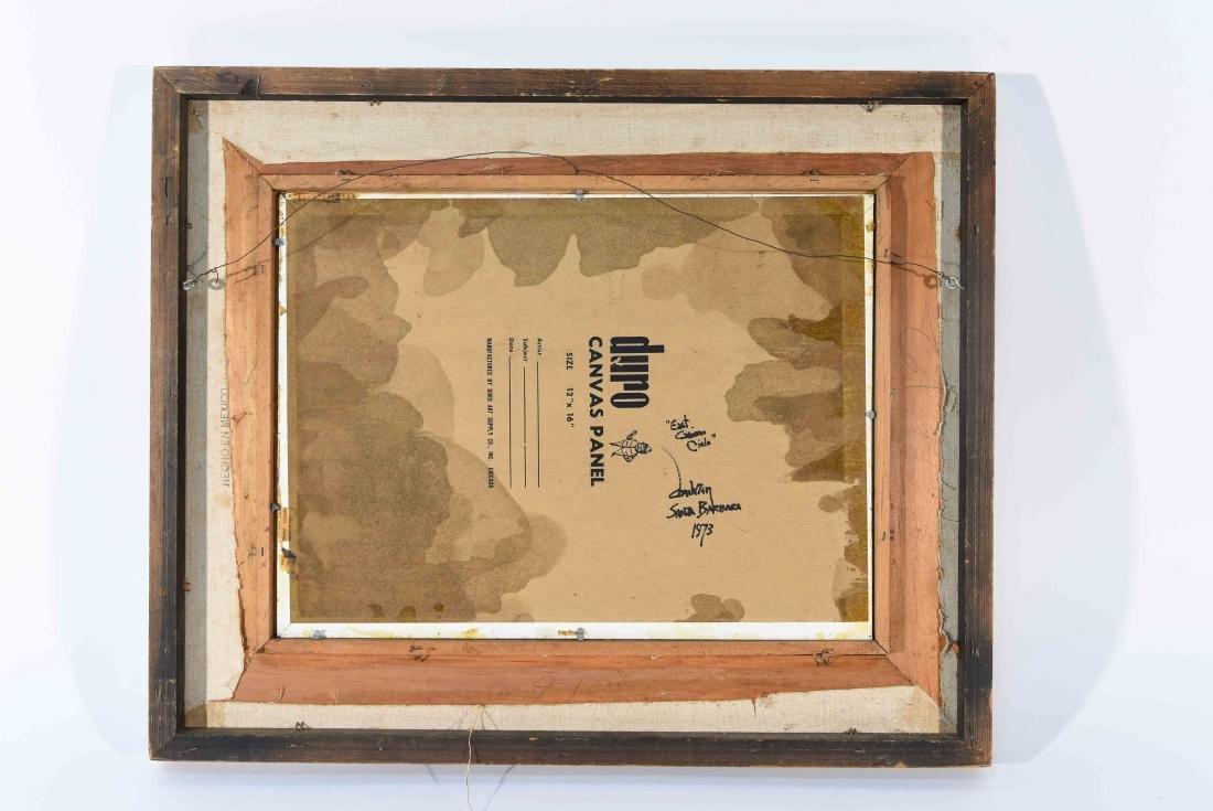 """EAST CAMINO CIELO"" SANTA BARBARA 1973 - 9"