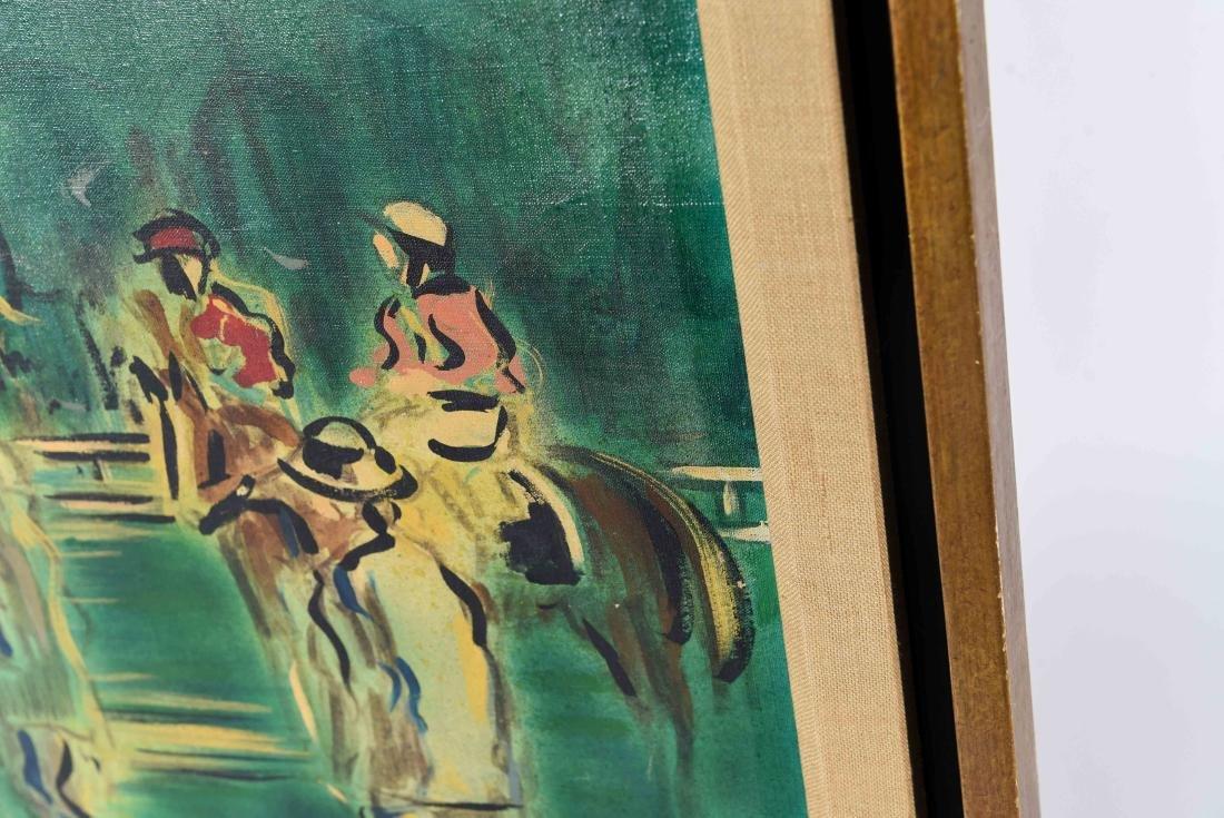 ABSTRACT RACE HORSES O/C - 8