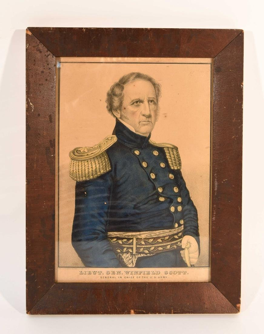 SOLDIER PRINT C.1850