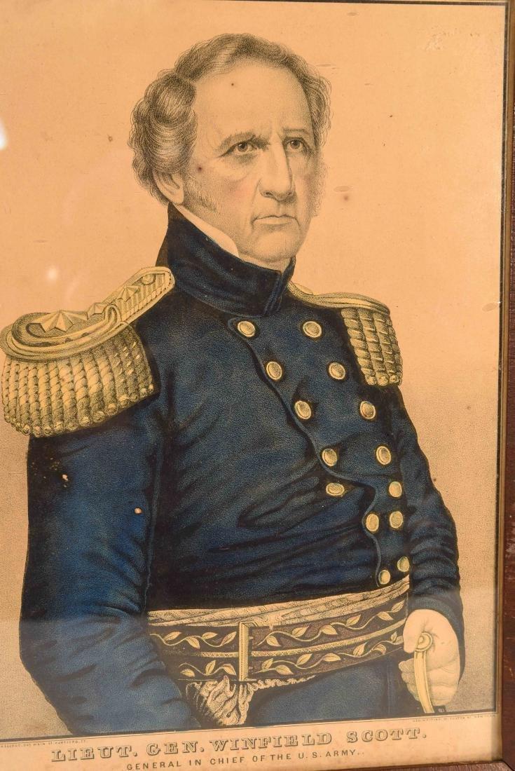 SOLDIER PRINT C.1850 - 2